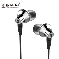 DUNU TITAN 3 HiFi Inner Ear Earphone Titanium Diaphragm Dynamic High Fidelity Earphones With MMCX Connector