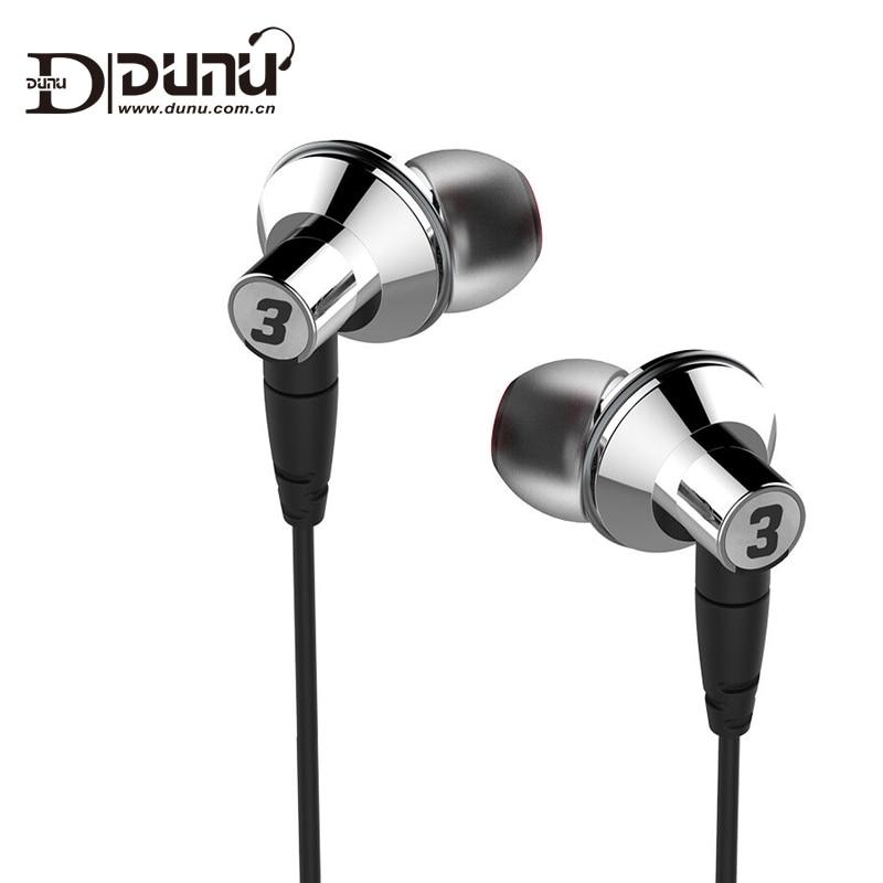 DUNU TITAN 3 HiFi Inner-ear Earphone Titanium Diaphragm Dynamic High Fidelity Earphones with MMCX connector TITAN3 TITAN-3 dunu titan 3