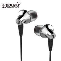 DUNU TITAN 3 HiFi Inner Ear Earphone Titanium Diaphragm Dynamic High Fidelity Earphones With MMCX Connector