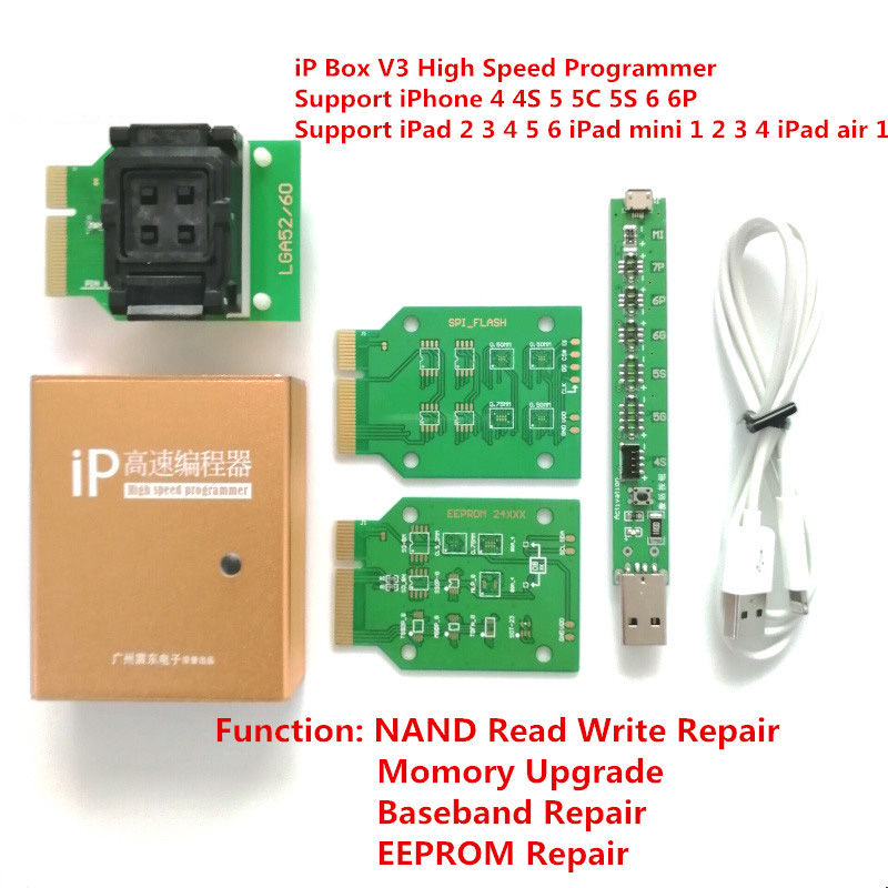 Image 5 - Naviplus Pro3000S JC Pro1000S Phone NAND Programmer HDD Read Write Tool For iPhone X 8 8Plus 7 7P 6 6S 5 All iPadPower Tool Sets   -