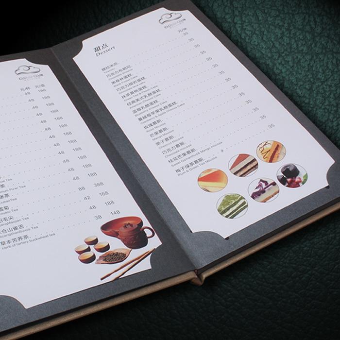 Restaurant Menu Folder Customised, small MOQ menu folder for hotel 40x l 195 infinity plan achromatic objective lens for educational lab medical bio microscope biological microscope 20 2mm