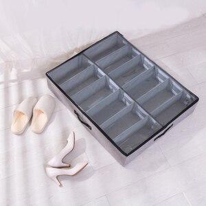 Image 4 - Luluhut Transparante schoenendoos Lade organizer voor schoenen opbergen Opvouwbare box voor schoen Thuis schoen opbergdoos onder bed opslag