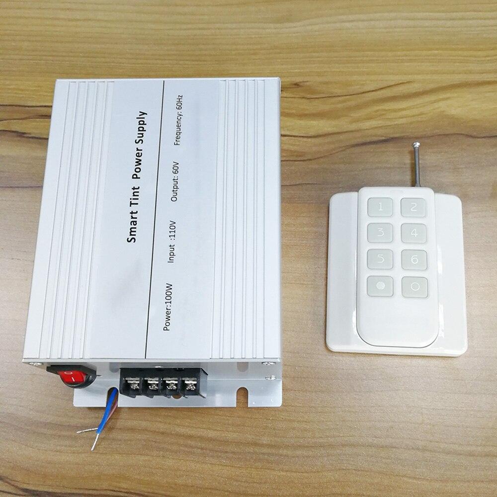 Samrt PDLC Film alimentation + contrôleur 220 v/110 v à 65 v 6 étapes