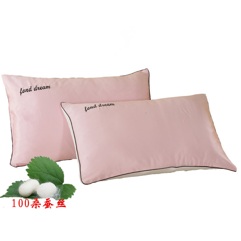 Natural Silk Pillowcase Hypoallergenic 19 Momme 600