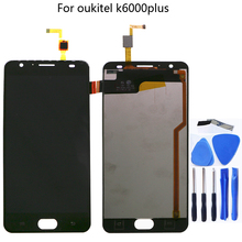 For Oukitel K6000 Plus 100% new Original LCD display and touch screen 5.5