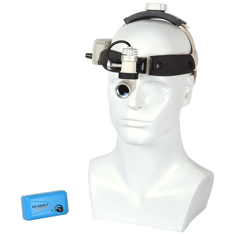 3 W KD 202A 7 LED Medical Headlight Dental Surgical Head Light Lamp All in one