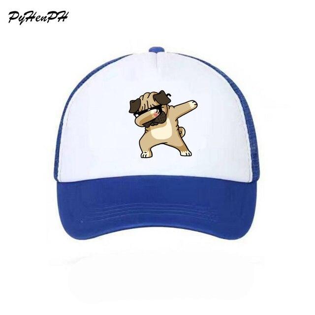 b67fc9042c7 Online Shop New 2018 DAB DOG Printed Baseball Cap Mesh Summer Cool ...