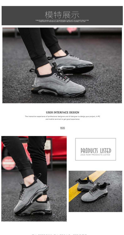 2018 Spring/Autumn Men's Vulcanize Shoes Fashion Sneakers Men Casual Shoes Flats Men Shoes Chaussure Homme Designer Sneakers 14