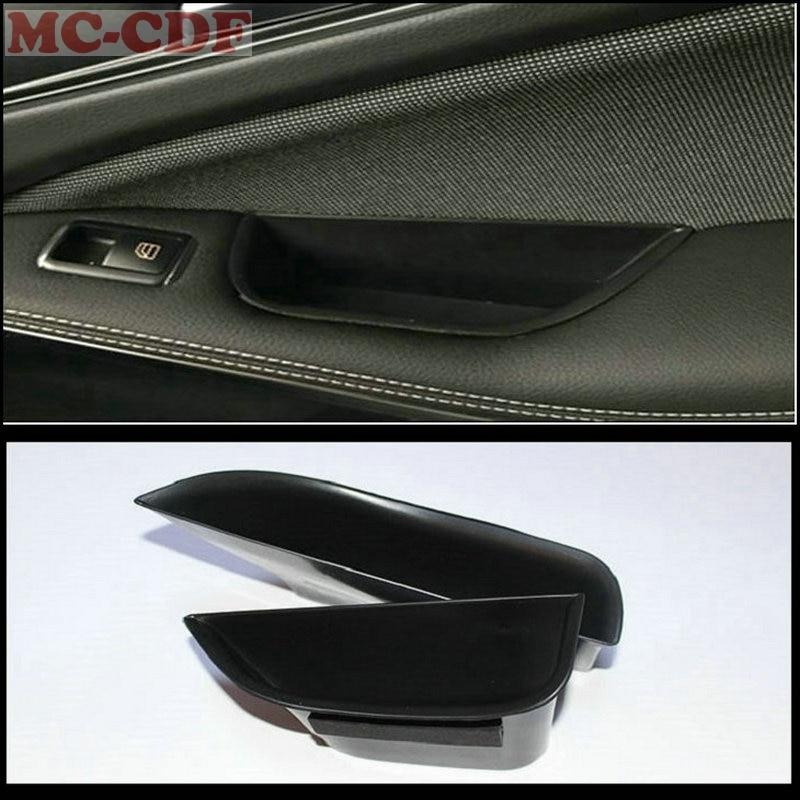 2 шт./лот, автомобильный подлокотник, ящик для хранения дверных ручек, перчатка, держатель для телефона, органайзер для Mercedes Benz B class B180 B200 W246 ...