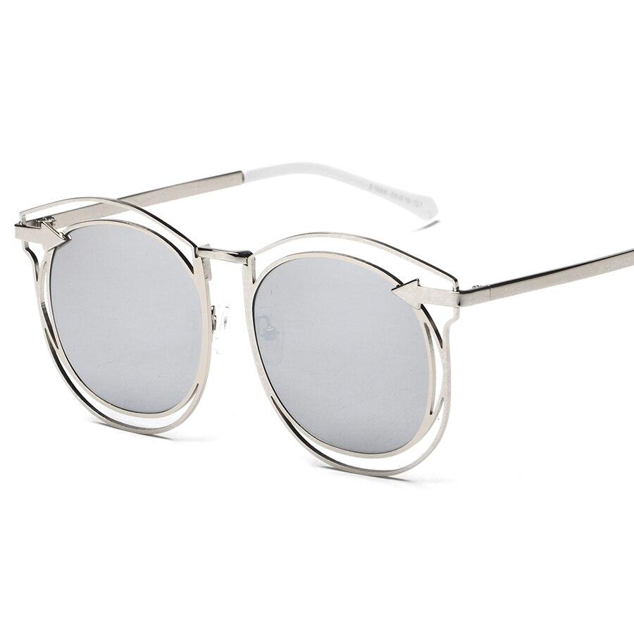 Mimiyou envoltura redonda flecha ojo Gafas gafas moda vintage retro moda gafas bf8904