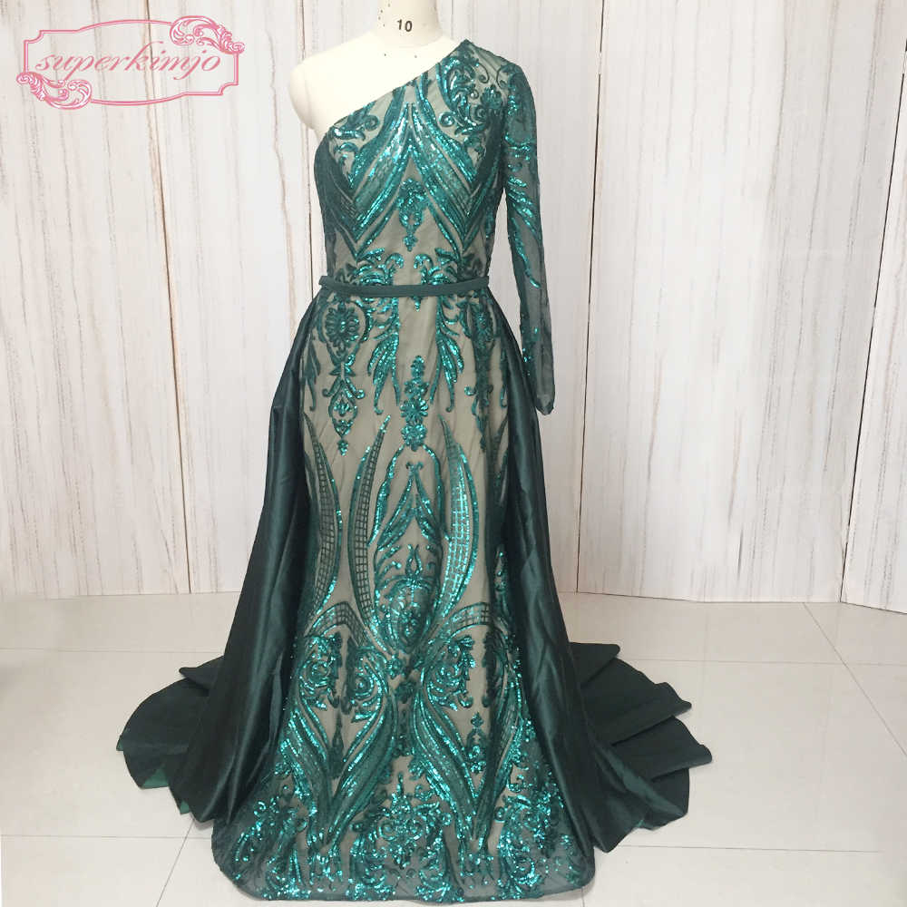 e7e85496809 ... SuperKimJo 2019 Detachable Skirt Evening Dresses Long Sequin Applique Arabic  Evening Gown Robe De Soiree Longue ...