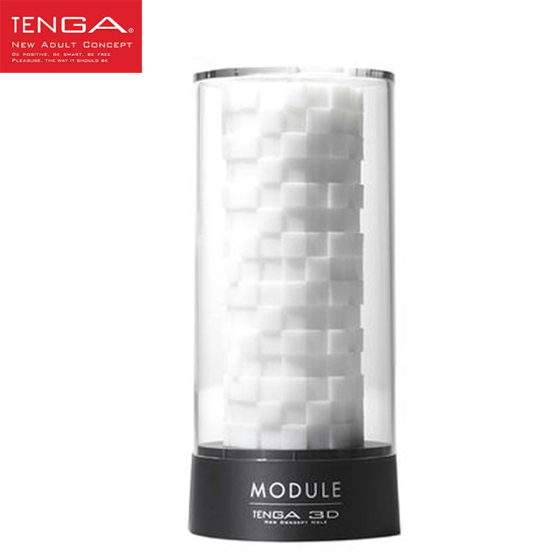 TENGA 3D Module Silicone Male Masturbator Artificial Realistic Vagina and Anal Pussy Adult Sex Products Sex Toys for Man evo 3d artificial vagina male masturbator adult sex products gasbag strong sucker vibrating masturbation cup sex toys for men
