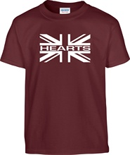 Hearts T Shirt Mens union jack jambos New Shirts Funny Tops Tee Unisex  High Quality free shipping