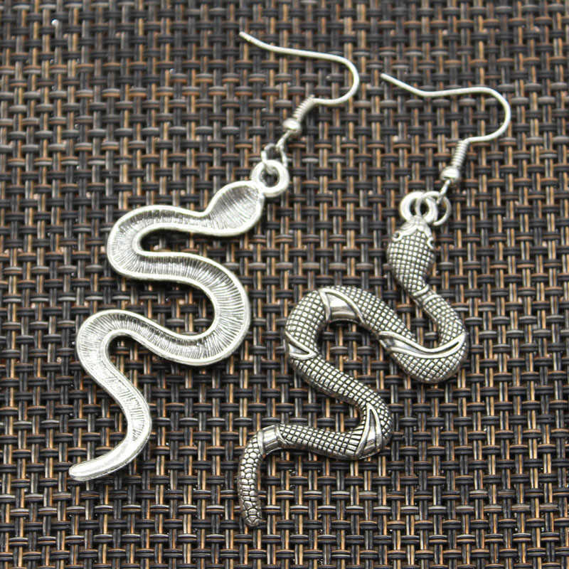 Heiße Verkäufe King Cobra Schlange Anhänger DIY Earringgs Für Geschenk Frauen