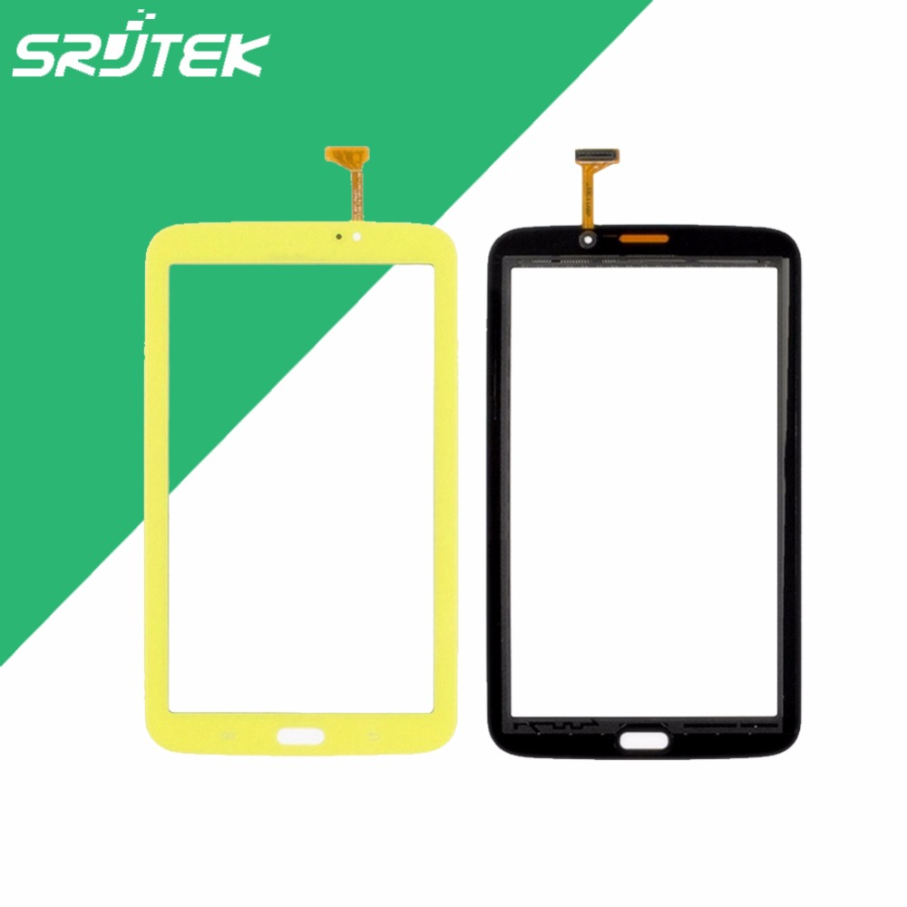 Best Price!7 inch For Samsung Galaxy Tab 3 7.0 Kids T2105 Wifi Yellow Touch Screen Digitizer Sensor Free shipping mymei best price new portable 3 5mm pillow speaker for mp3 mp4 cd ipod phone white