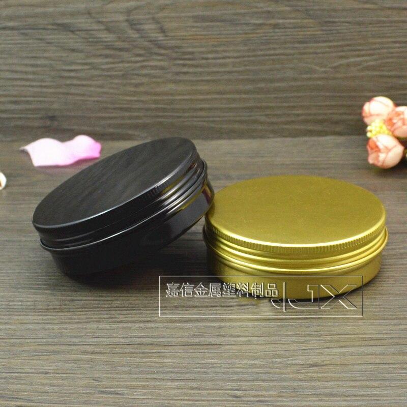 100g bijela aluminijska boca kozmetička krema jar 100ml prazan vosak - Alat za njegu kože - Foto 6