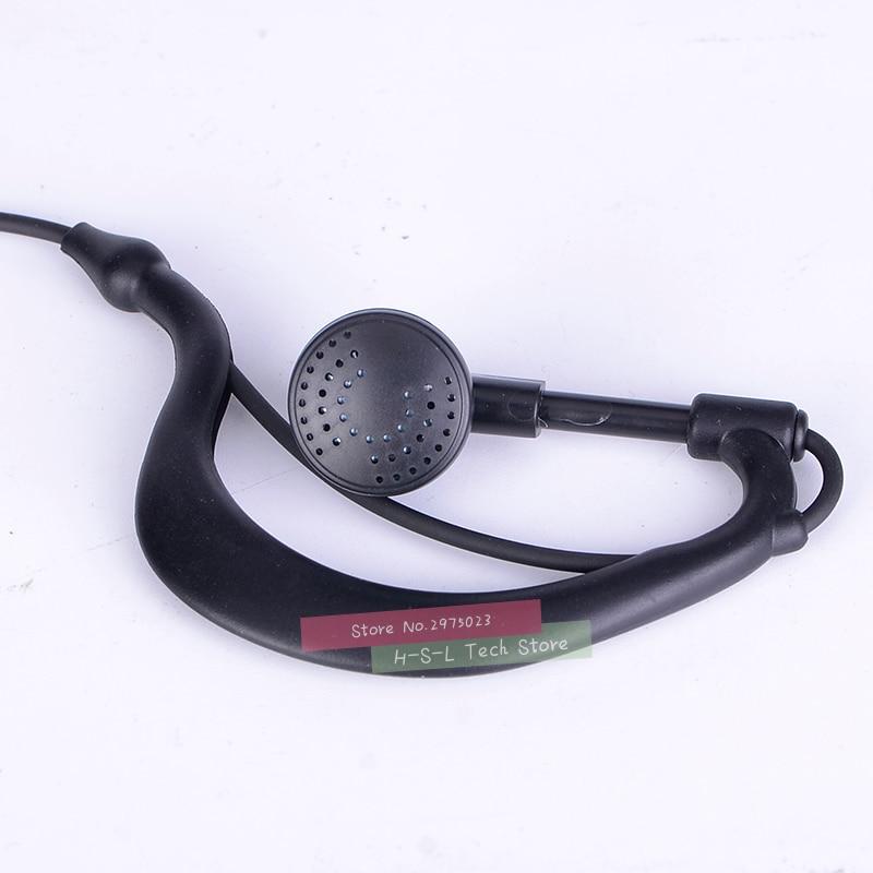 טלוויזיות 25 29 עבור אוזניות אוזניות Baofeng Waterproof מכשיר הקשר UV-XR UV-5S UV5R-WP GT-3WP T-57 R760 GT-3TP מקורי אוזניות אפרכסת (2)