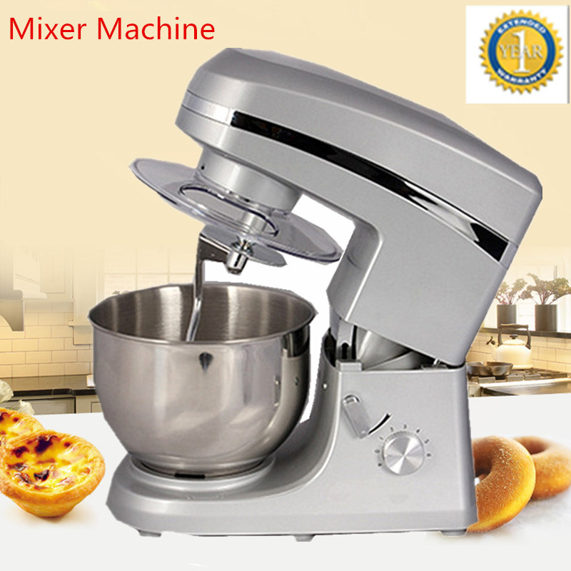 New Multi-functional Dough Mixing Machine Electric Dough Mixer Small Automatic Food Mixers Egg Beater Commercial Chef Machine new premium high quality stainless steel commercial dough ball making machine automatic dough divider rounder for small business