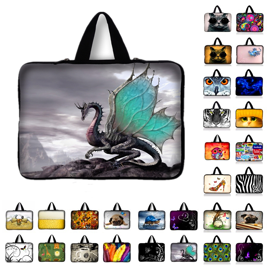 Neoprene Laptop Bag 10.1 12 13.3 14 15.4 15.6 17 inch Notebook Laptop Sleeve Case for Apple Macbook Air/ Pro/Retina for Asus HP