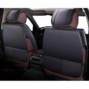 Image 5 - Fundas de asiento de cuero para coche, para hyundai accent elantra santa fe solaris sonata tucson 2009 2008 2007 estilo 2006