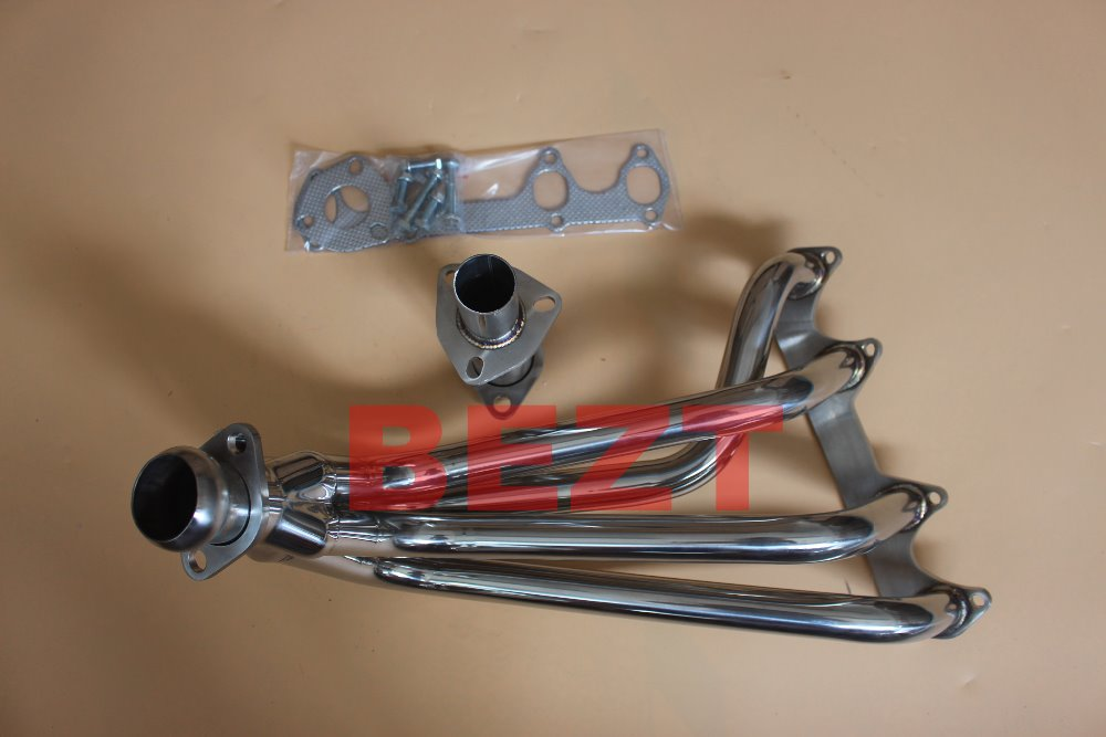 Exhaust Headers Exhaust Systems Expressive T-304 Stainless Steel Header/exhaust/manifold For 75-84 Vw Rabbit/scirocco Coupe All Made By Stainless Steel 304 Fnage Also 304 Clients First