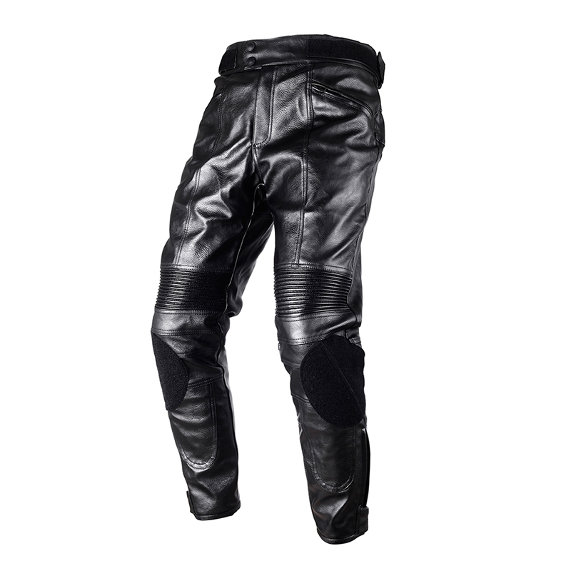 100% Waterproof DUHAN Motorcycle Protective Gear PU Leather Pants Motorbike Racing Trousers Locomotive Motocross Leather Pants