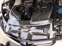 Car Styling Carbon Fiber Filter Cover Trims Kit 5PCS Fit For 2008 2010 MB W204 C63