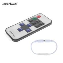 HNGCHOIGE Mini RF Wireless Remote Led Dimmer Controller For Single Color Led Strip Light SMD5630 SMD5050 SMD3528 DC 5V 12V 24V
