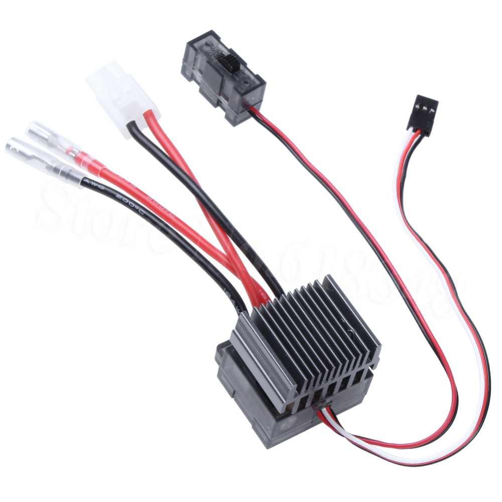Hohe Spannung 320A GEBÜRSTET ESC Pinsel Speed Controller mit Umge RC HSP 1/10 1/8 Auto Fit Himoto Redcat Racing