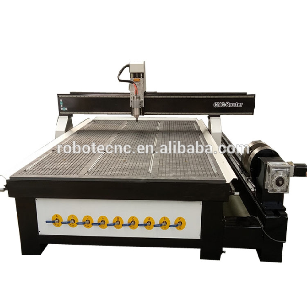 2030/2040 4 Axis Wood Cutting PVC Foam Board CNC Router CNC Machine Italy Air Coolling Spindle MDF Engraving Milling Machine