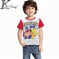 Pokemon Go Boys camiseta Cinco Noites No Freddy FNAF Crianças t-shirt Bombeiro Sam crianças tshirt Guerra Estrela crianças Tops de manga curta Tees
