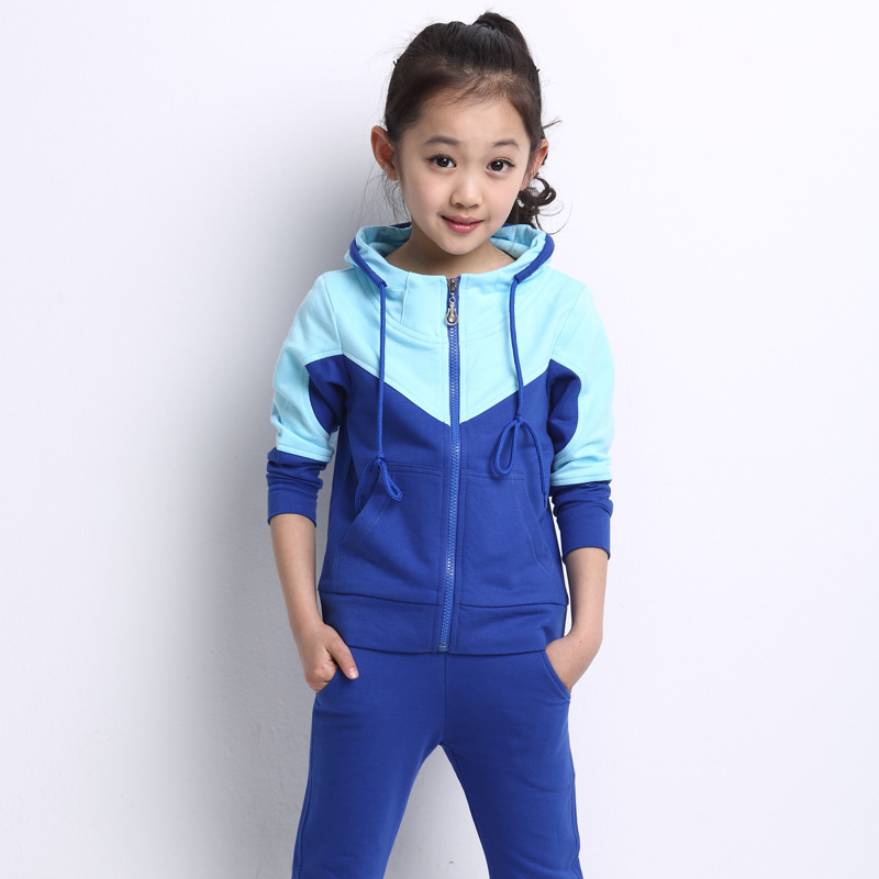 Boys and Girls Clothing Set 6 8 10 12 14 16 Years Long Sleeve Childrens Tracksuit for Girls and Boys School Clothes Spring 9L01 children s long sleeve sports suits boys clothing set camouflage child outdoor sport tracksuit clothes sets 4 6 8 10 12 14 year6