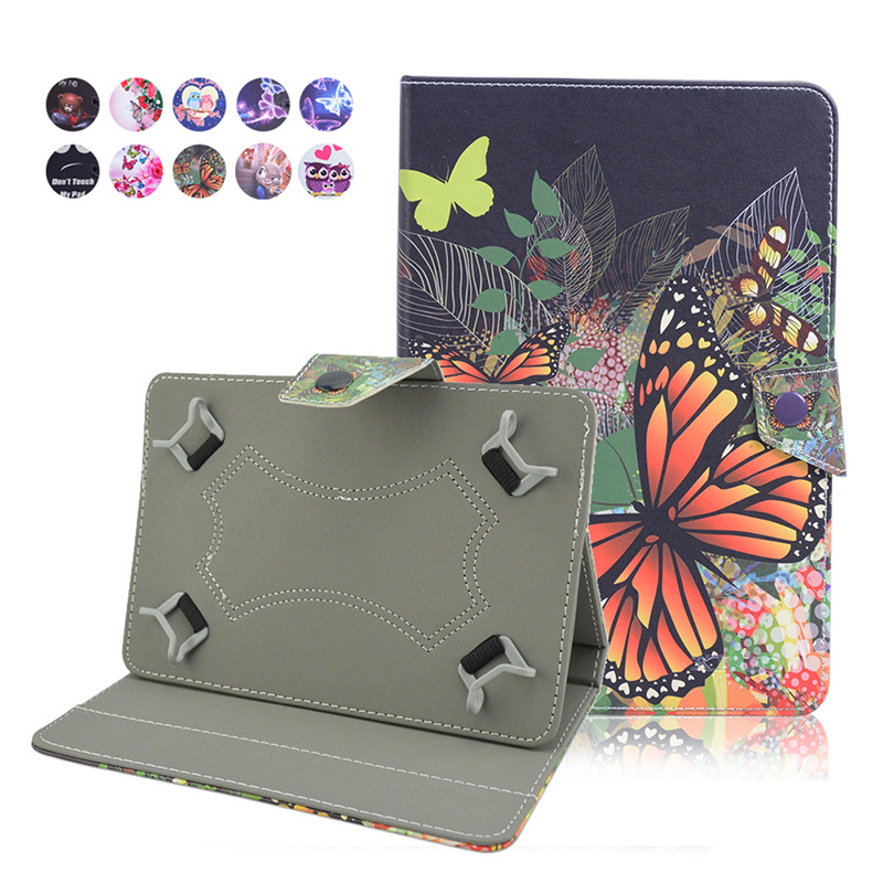 For lenovo tab 2 A7-10F/A7-30 capa tablet 7.0 inch flip cover case PU leather case For Irbis TX22 universal 7 inch case+3gifts