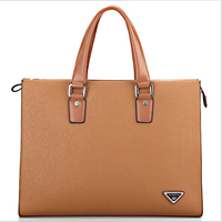 3colors Brand Business Man S Briefcase Pu Leather 15 Inches Laptop Bags Fashion Casual Dress Male