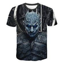 2019 Summer Autumn Game of Thrones figure cosplay costume tshirt tee shirts Loos