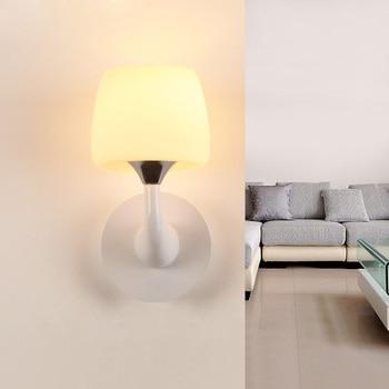 Modernen minimalistischen kunst wandleuchte harz wohnzimmer schlafzimmer nachttischlampe lampen beleuchtung studie