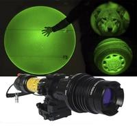 Drop shipping Adjustable Green Designator Hunting Laser Flashlight AR15 Green Laser Flashlight
