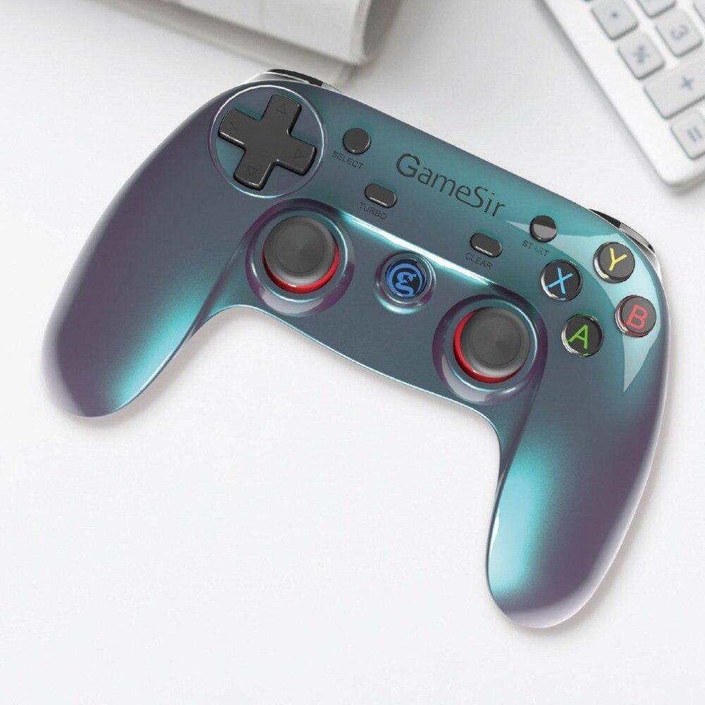 G3v Bluetooth Gamepads Sans Fil Jeux Joystick Contrôleur Haute Sensibilité et de Réponse Rapide Pour PC Android PS3