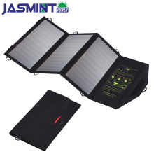 Solar charger 21W  5v Solar Panel with Dual USB Port Waterproof Foldable Solar Cells for Smartphones Tablets and Camping Travel цена и фото