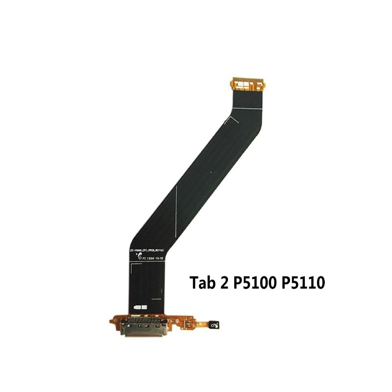 New USB Charging Charger Port Dock Socket Connector Flex Ribbon Cable For Samsung Galaxy Tab 2 10.1 P5100 P5110