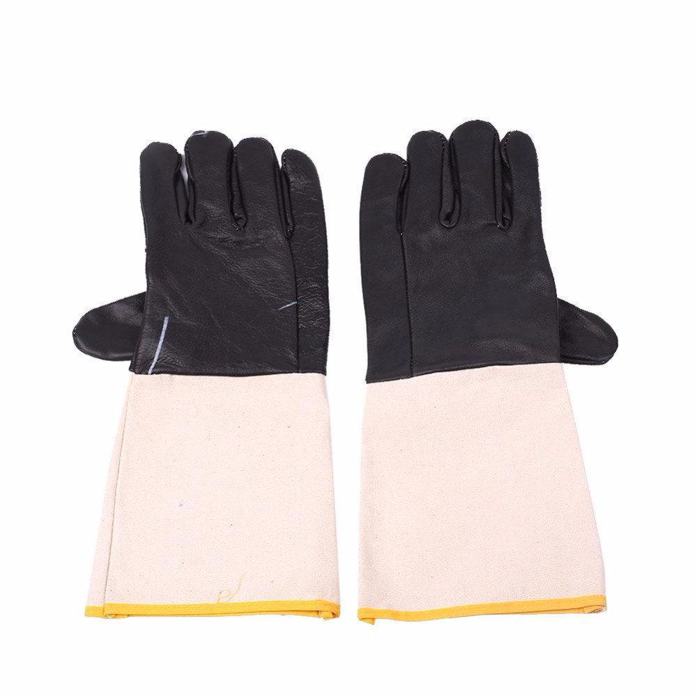 giantree 1Pair Welding Work Gloves Heatproof Durable Anti Splash Welders Safety Workwear welding welders work soft cowhide