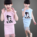 Baby Girls Clothes 2pcs/set Summer Style A Short-sleeved Skirt Girls Clothing Set Children's Kids Clothes Sets