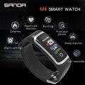 SANDA Bluetooth Браслет Смарт часы для мужчин кровяное давление монитор сердечного ритма Smartwatch женские часы Android IOS сенсорный экран новый