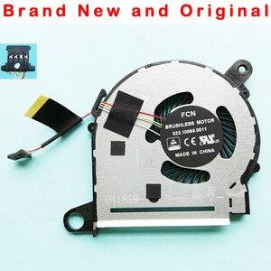 Новый оригинальный вентилятор охлаждения для процессора HP X360 13-U 13-U038CA 13-U124CL 13-U163NR BONBON13 Вентилятор Кулер 855966-001 NFB59A05H 855966-001