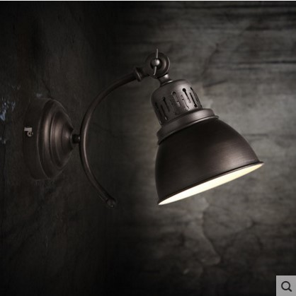 America Country Vintage Wall Lamp Loft Style Industrial Lighting LED Stair Light Wall Sconce Arandela De Parede zx vintage industrial wall lamp country