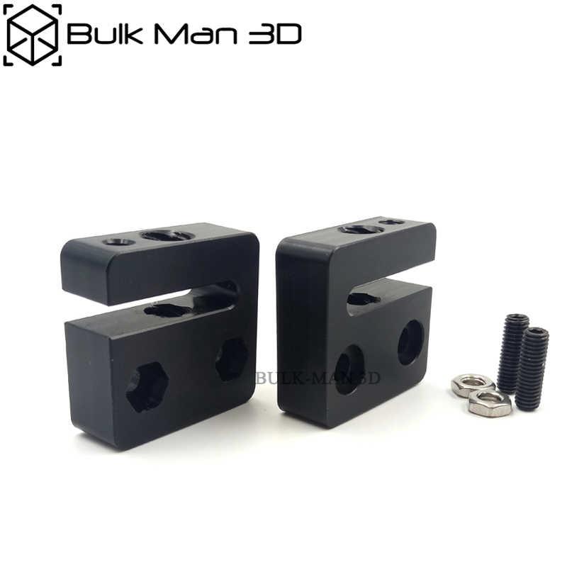 3D เครื่องพิมพ์ Openbuilds POM Anti-Backlash อ่อนนุชสำหรับ 8mm เมตริก Acme สกรูตะกั่ว 8 มม.เกลียวเกลียว Rod trapezoidal เมตริก Acme Tap T8