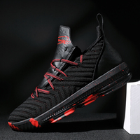 ZHENZU LBJ Basketball Shoes Outdoor High Top Men Athletic Sport James Sneakers Basket Homme Athletic Kid's Shoes Plus size