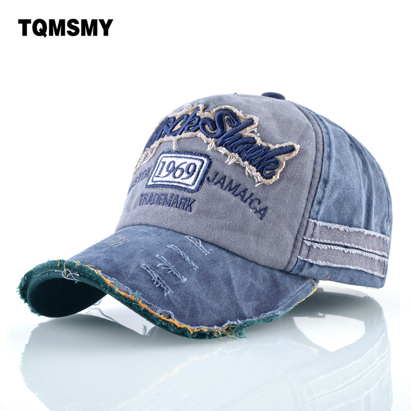 TQMSMY Washed denim hats men Spring Bone embroidery Baseball Caps women Snapback Cap men's Sun visor Hip-hop hats Casquette xthree summer baseball cap snapback hats casquette embroidery letter cap bone girl hats for women men cap