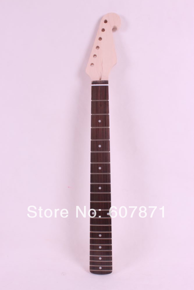 onw  unfinished electric guitar neck Mahogany Rosewood  Bolt on new bolt on unfinished electric guitar neck mahogany