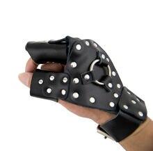 Охотничьи защитные перчатки Рогатка катапульта Дротика искусственные